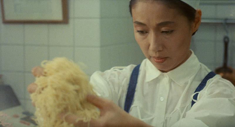 Nobuko Miyamoto in Juzo Itami's 'Tampopo' (1985).