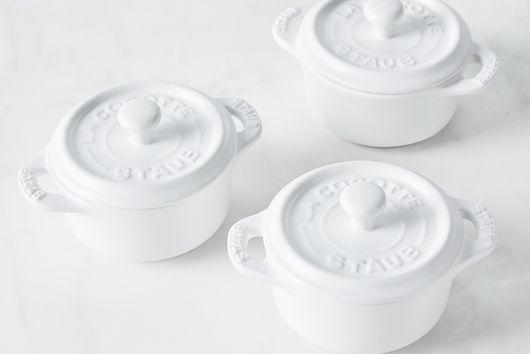 Staub Matte Ceramic Mini Cocotte (Set of 3)