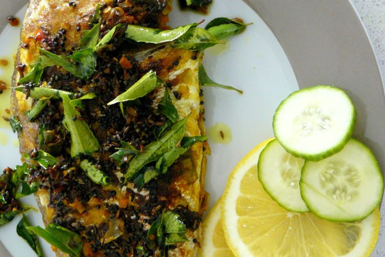 Indian Style Fried Snapper