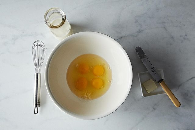 Scrambled eggs from Food52