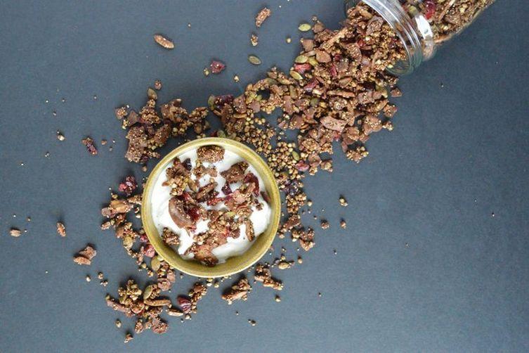 Ancient Grains Chocolate Cranberry Granola