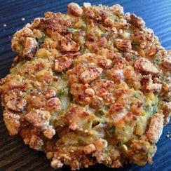 Crispy Baked Plantain Falafel