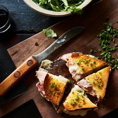 Eric Kayser's Croque-Monsieur with Mornay Sauce