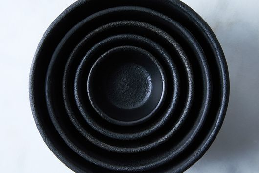Nested Cast Iron Bowls
