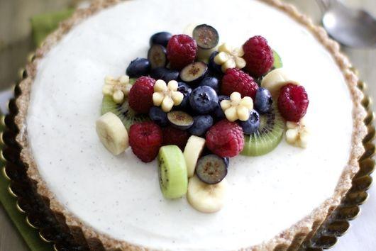 Yogurt Cardamom Tart