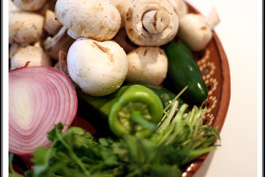 Mushroom, Jalapeño, and Cilantro Salsa