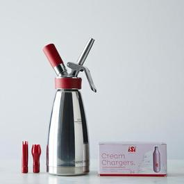 Culinary Thermo Whip with 24 Cream Chargers