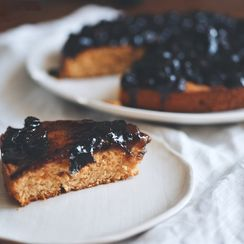 """""""Drunk"""" Christmas Cake with Raisins and Prunes"""