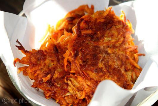 Sweet Potato Latkes - Gluten Free