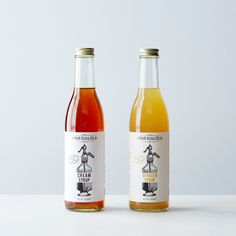 Ginger & Cream Soda Syrups