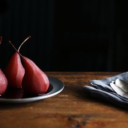 Red-Wine Poached Pears