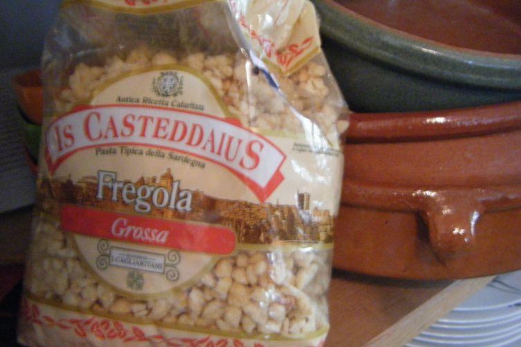 Fregola Bastia with Sauce  A'l Americaine