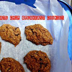 Vegan Chocolate Chip Breakfast Cookies