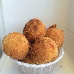 Parmesan Polenta Balls