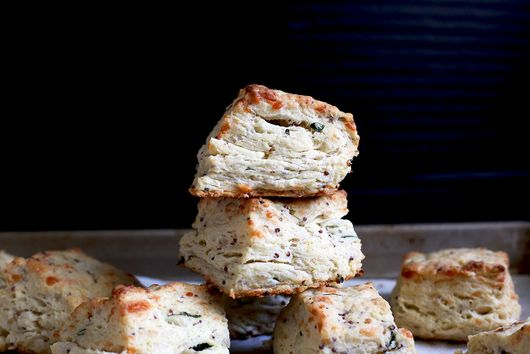 Savory, Secret-Ingredient Mozzarella Biscuits