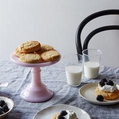 A Gluten-Free Biscuit for Shortcakes & Summer Breakfasts