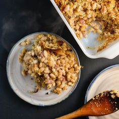 Baked Navy Beans with Pancetta