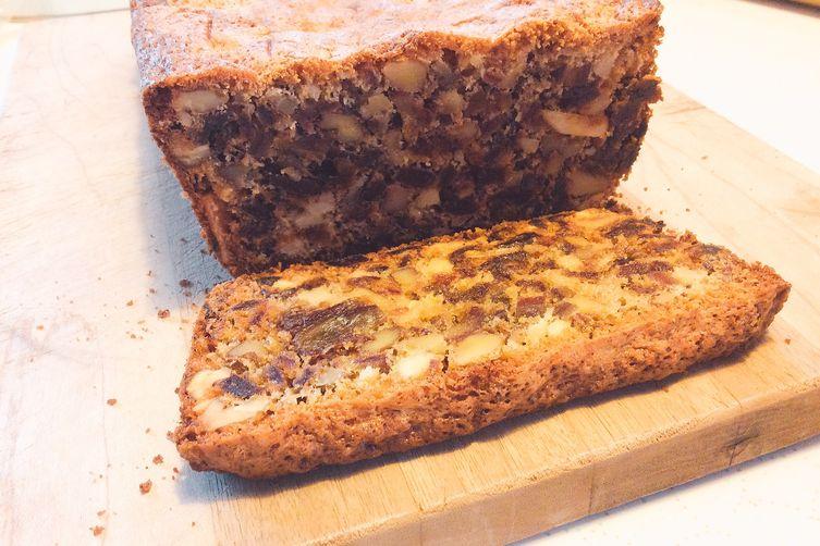 """Jewish Bread"" (Anyu's Date Nut Bread)"