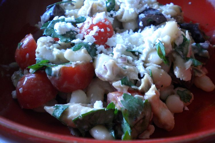 Mediterranean Mackerel Salad