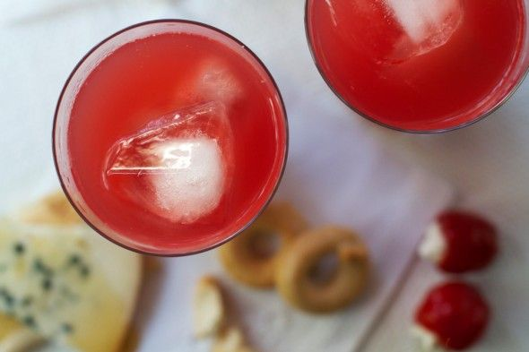 Campari Watermelon Coolers