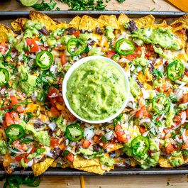 Spicy Black Bean Nachos