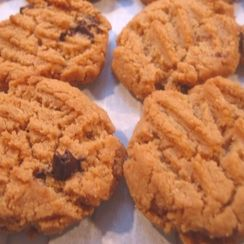Fresh-ground Peanut Butter Cookies