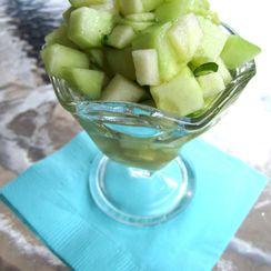 """Gin & Ginger"" Cucumber Salad"