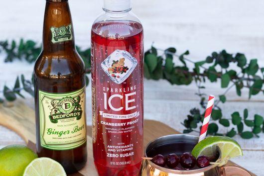 Cranberry Ginger Beer Mocktail