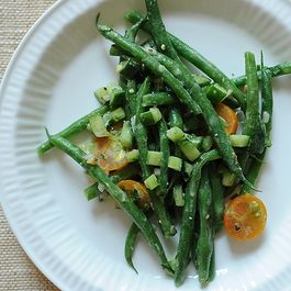 Vegetables - green beans by krusher