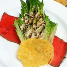 Ahi Caesar Salad