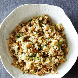 Quinoa and Farro Salad with Pickled Fennel