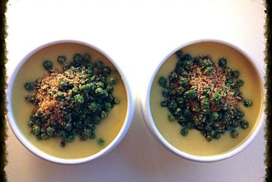 Heavenly Delicious Sweet Potato & Lime soup