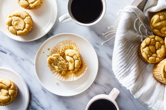 Lemon Poppyseed Chickpea Muffins