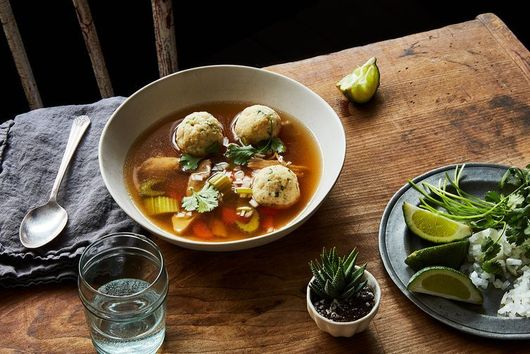 The Spicy Kick Your Matzo Ball Soup's Been Missing