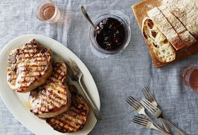 891cb655 fec7 4377 bf90 a92b483298de  5a76392e e0f2 47fe 9b03 a5af55b7c56f 2015 0810 simple summer pork chops with balsamic pepper plum reduction and fresh thyme alpha smoot 282