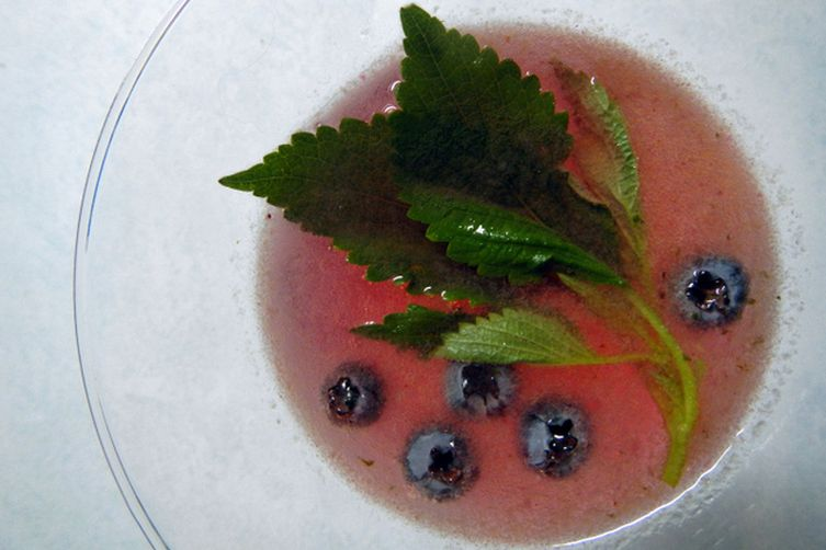 Blueberry Shiso Smash