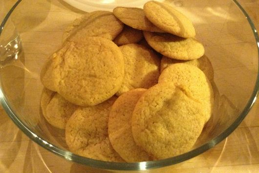 Super Chewy Ginger Biscuits