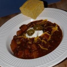 Smoky Black Bean Chili with Butternut Squash