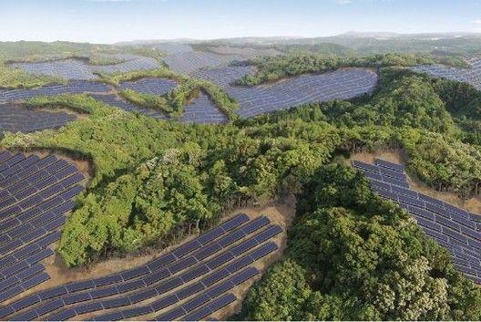 Abandoned Japanese Golf Courses Solar Farms Arch Daily