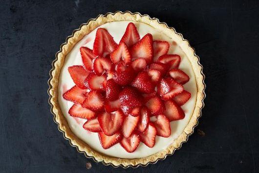 Strawberry-Mascarpone Tart