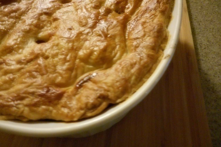 Cheshire (like) Pork and Apple Pie