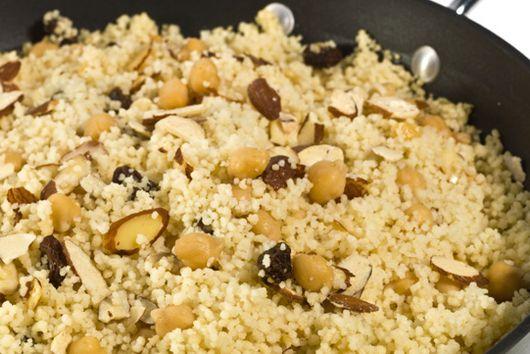 Almond Couscous