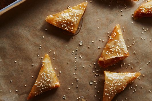 Samsa (Almond-Orange Triangles)