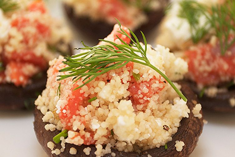 Smoked Salmon Couscous {with Feta and Dill}