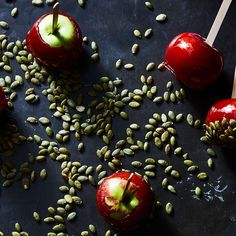 Spiced Candy Apples