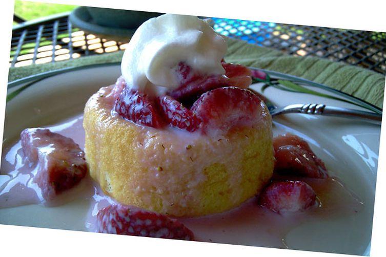 Simple Strawberry Shortcake