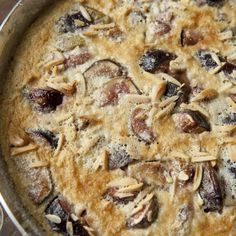 Fig and Anise Clafoutis