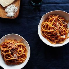Bucatini Pasta with Pork Ragu