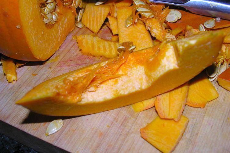 Pumpkin glory with lemon zest cheesecake