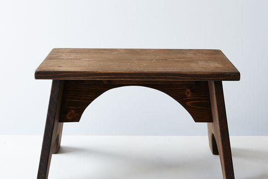 Wooden Kitchen Step Stool